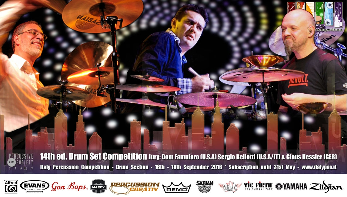 Drum-Section-Italy-Percussion-Competition-2016
